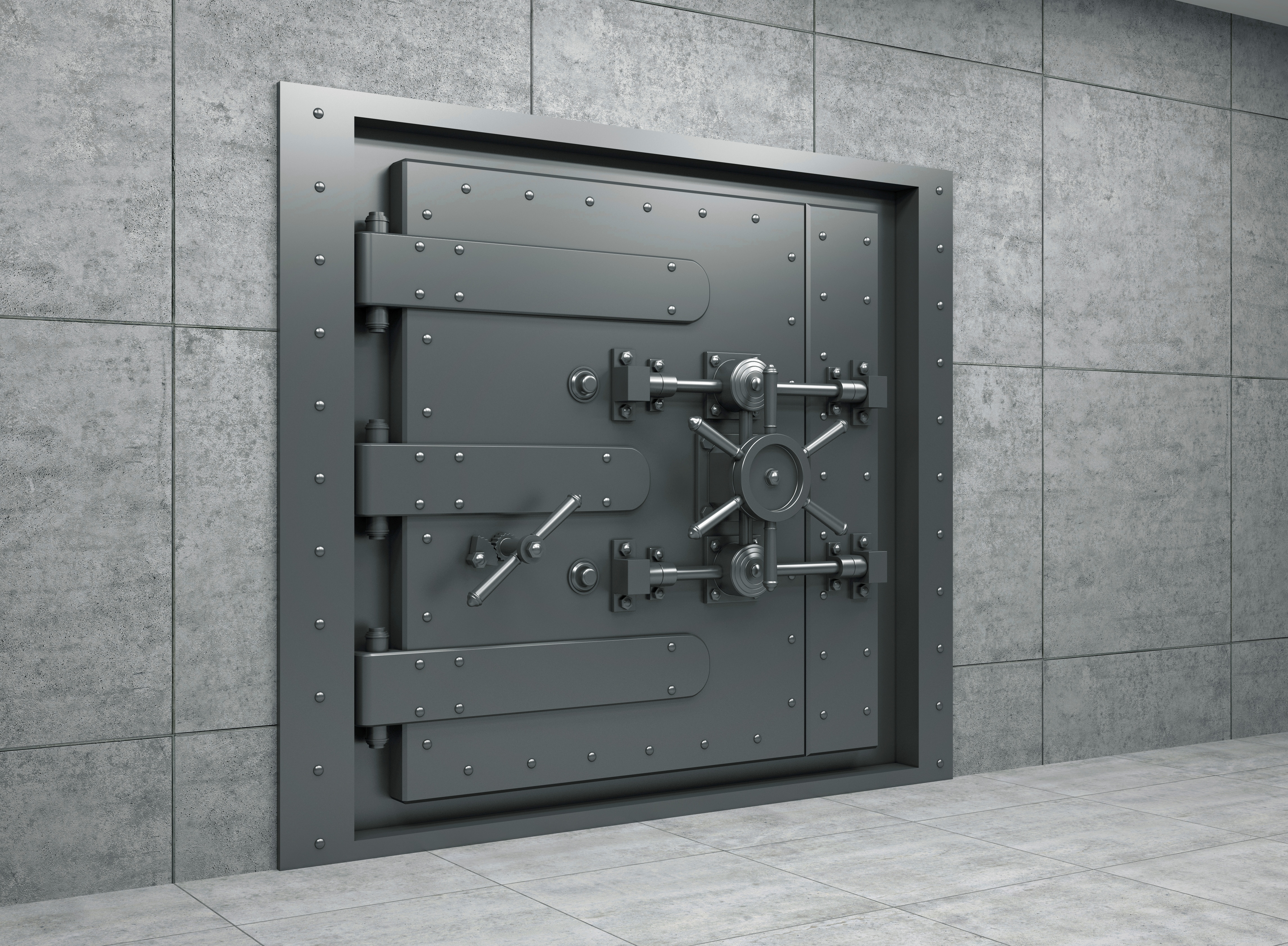 Bank Vault Doors : Friday finish … stressed out